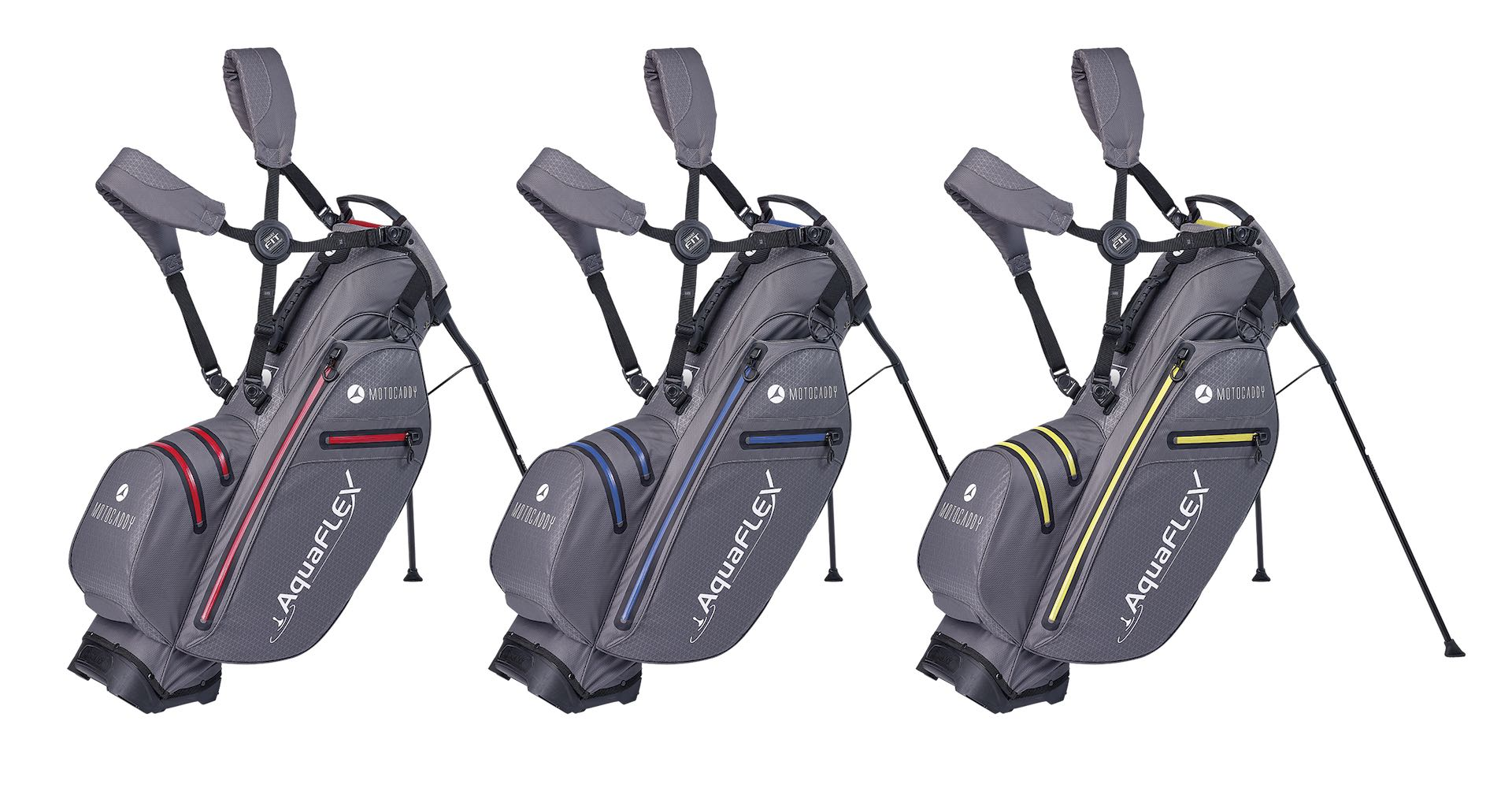 Motocaddy launches revolutionary AquaFLEX stand bag