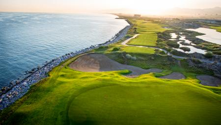 Oman's first links-style golf course gets ready