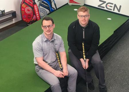 McDonald's got Zen as golfers hit the slopes in South Wales