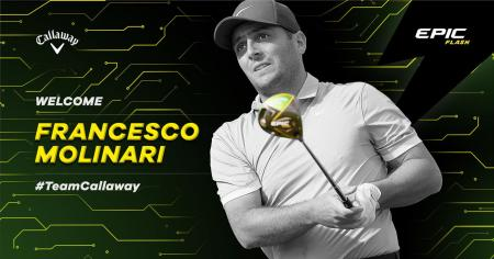 Francesco Molinari joins Callaway Golf Tour Staff