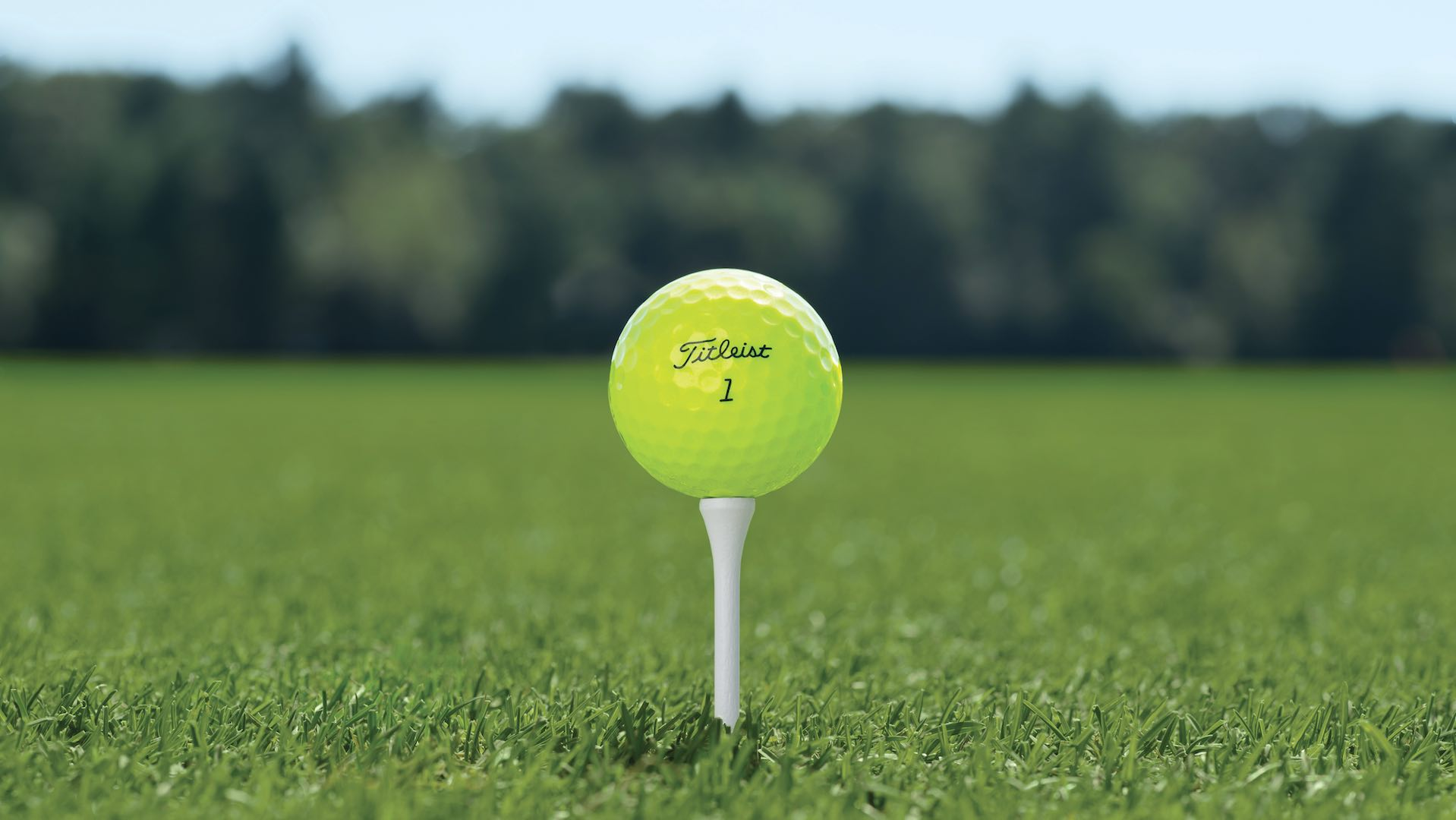 Titleist launch Pro V1 yellow balls