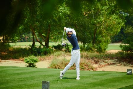 Chang and Mishra Relishing Chen Chase at Faldo Series Asia Grand Final