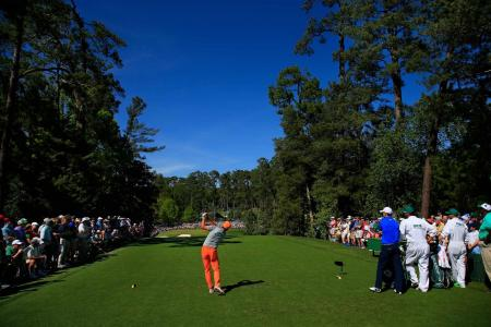 Masters Rickie Fowler 18th