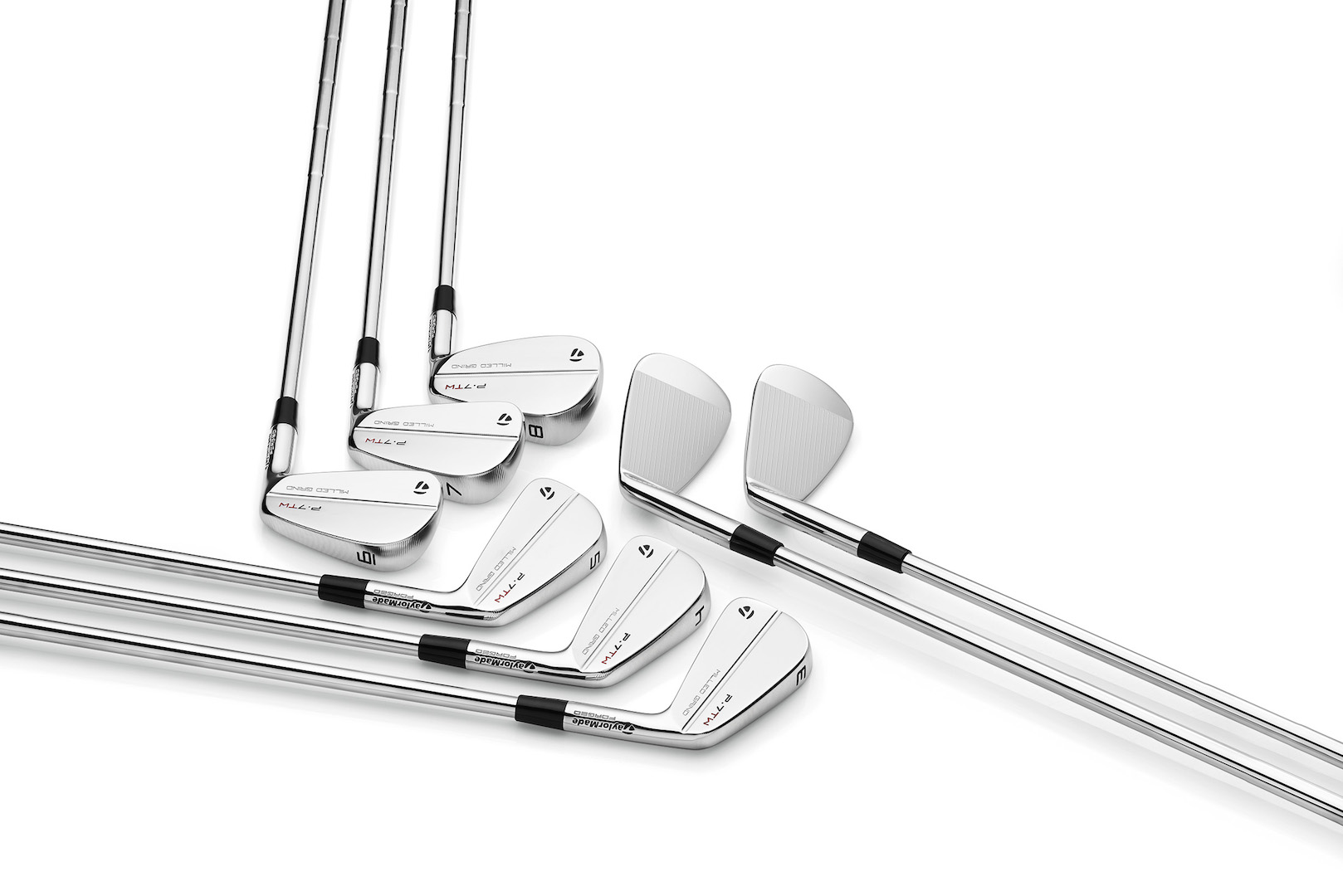 Tiger Woods and TaylorMade launch new P-TW irons