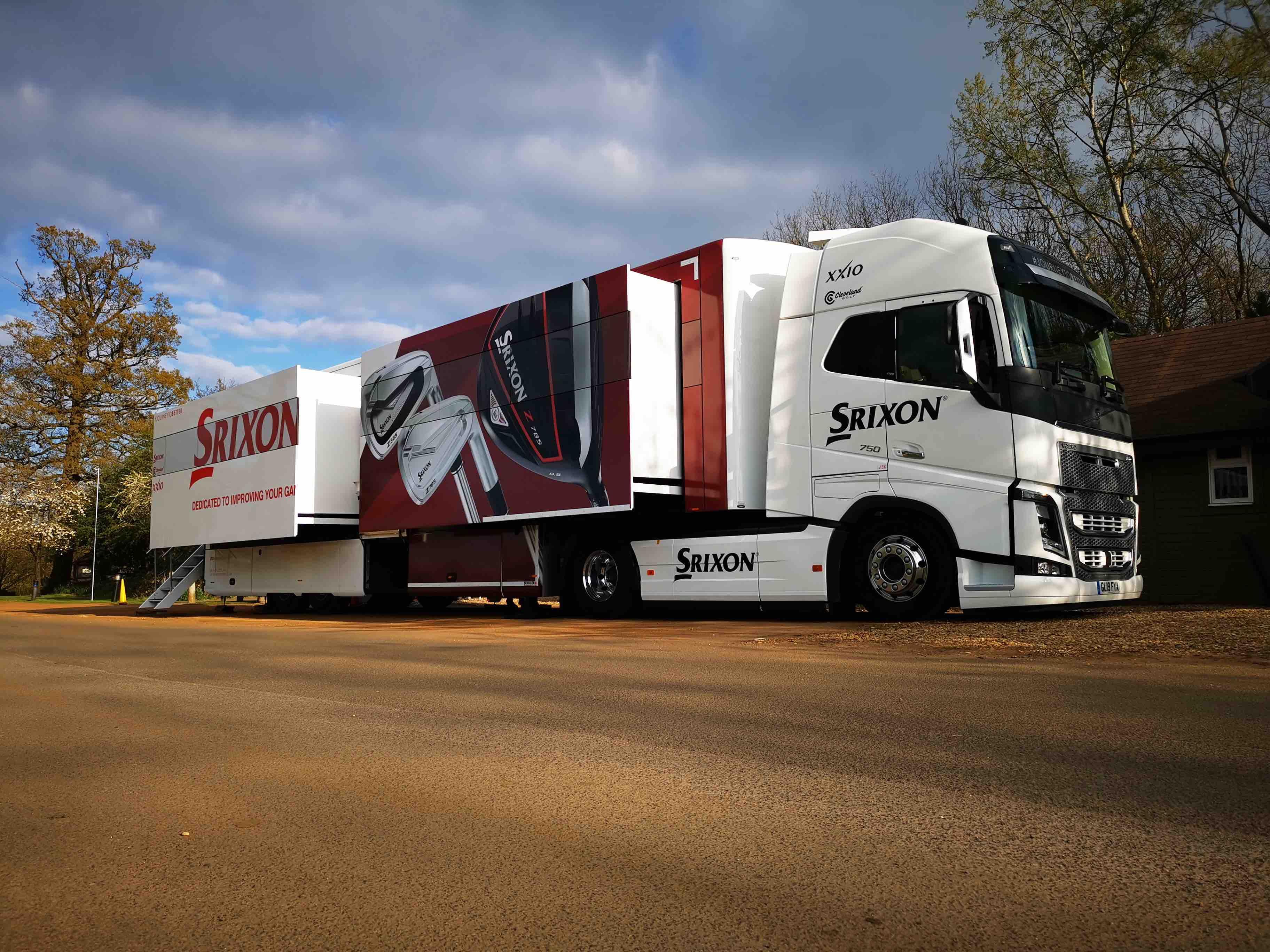 Srixon Sports Europe unveils new tour truck