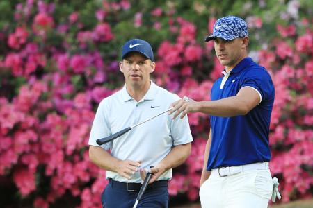 Paul Casey, Brooks Koepka Masters 2019