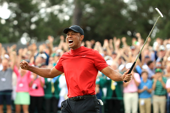Woods Finally Delivers Again at Augusta