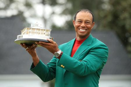 Tiger Green Jacket Masters 2019