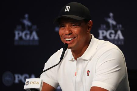 Tiger Woods USPGA 2019 Press