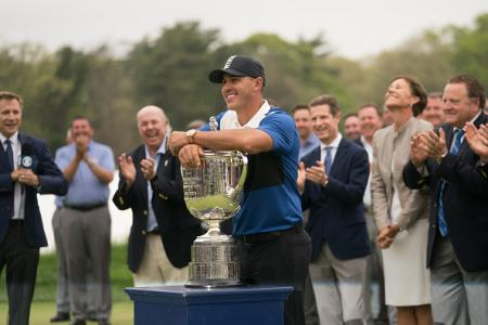 Koepka Holds on to win USPGA