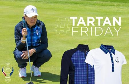Tartan Friday at Solheim Cup