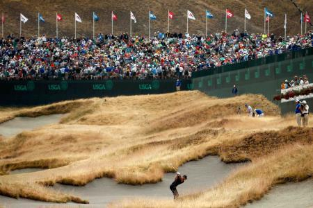 Tiger Bunker US Open