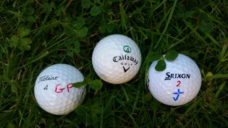 Marked Golf Balls