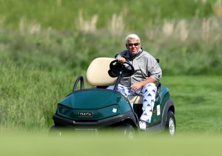 John Daly Golf Cart