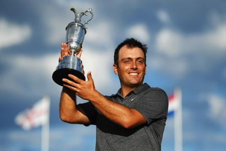 Francesco Molinari The Open Trophy