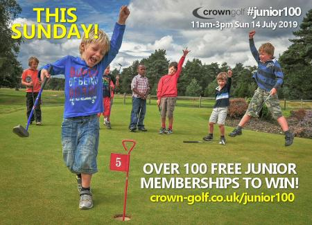 JUNIOR MEMBERSHIP GIVEAWAY!