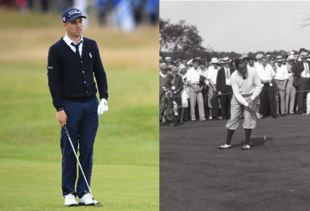 Justin Thomas Walter Hagen the tie