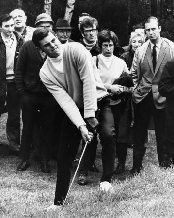 Representing for all the GolfPunks: Bernard Gallacher
