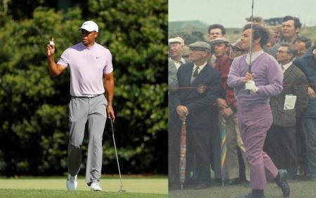 Tiger Woods Tony Jacklin Turtle Neck