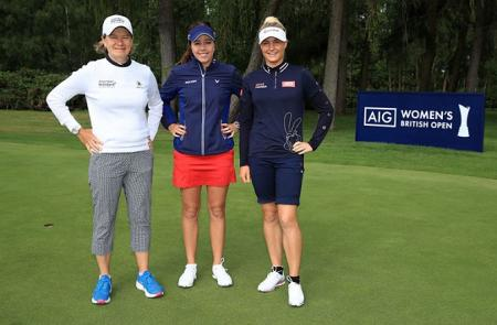 Women's British Open Tee Times