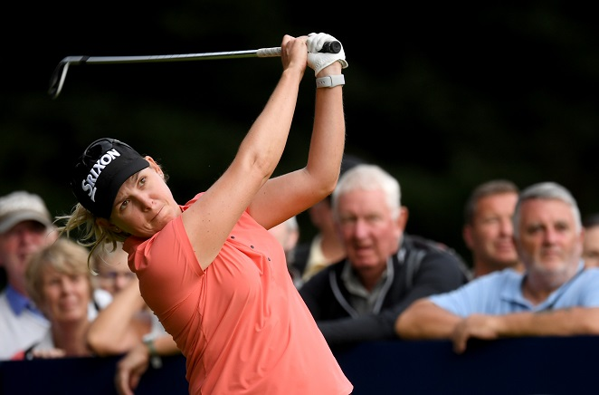 Buhai goes clear at Women's British Open
