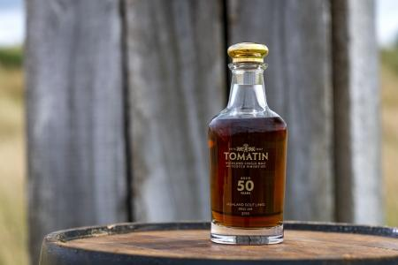 Tomatin 50 year old whiskey