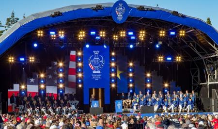 Solheim Cup Teams stage