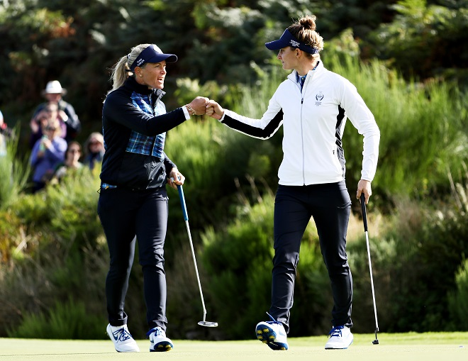 Solheim Cup Day 1