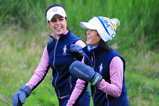 Solheim Cup Day 2
