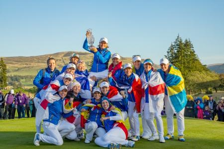 Solheim Cup Winners Europe