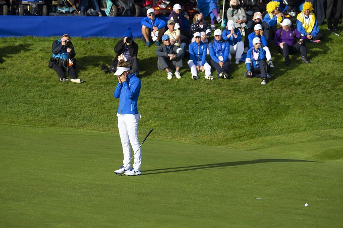 Europe win Solheim Cup