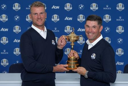 Robert Karlsson Padraig Harrington Ryder Cup