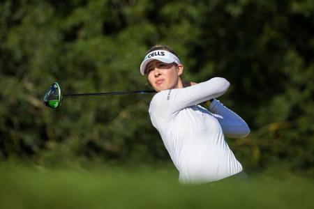 Lacoste Ladies Open Day 2 Nelly Korda