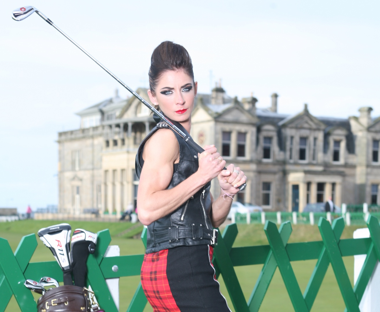Ice Ice Baby: Eve Muirhead in St Andrews