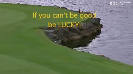 Luckiest Golf shot ever?