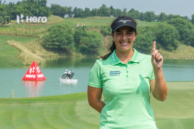 Hero Women's Indian Open Day 2