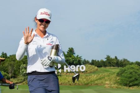 Hero Women's Indian Open Christine Wolf