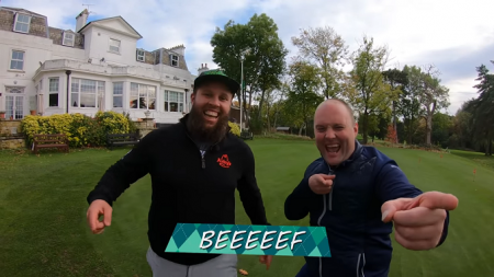 ANDREW 'BEEF' JOHNSTON  FOOOORE HOLE CHALLENGE