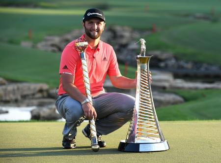 Jon Rahm DP Tour Championship Race to Dubai 2019
