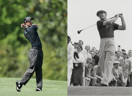 Adam Scott v Ben Hogan pleats