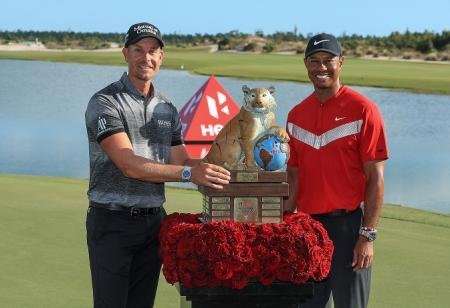 Henrik Stenson Tiger Woods Hero World Challenge 2019