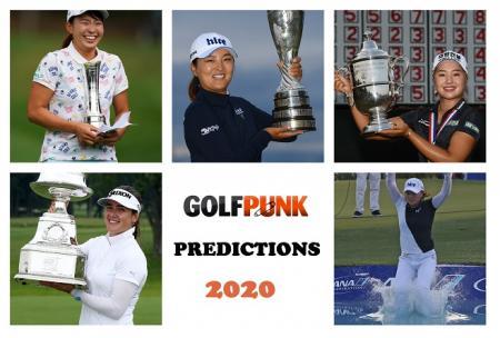 GolfPunk 2020 predictions women