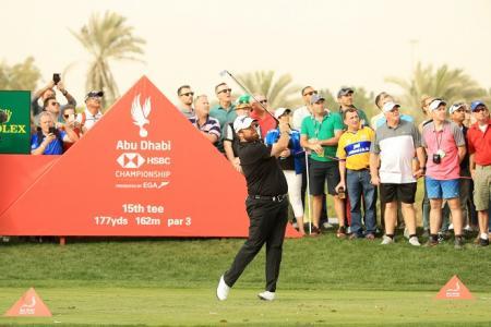 Shane Lowry Abu Dhabi HSBC 2019