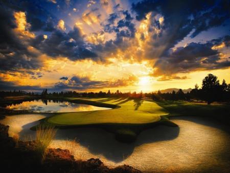 GolfPorn: 13th at Pronghorn, Oregon