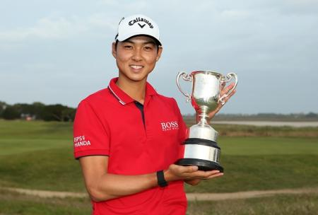 Min Woo Lee ISPS Handa Vic Open