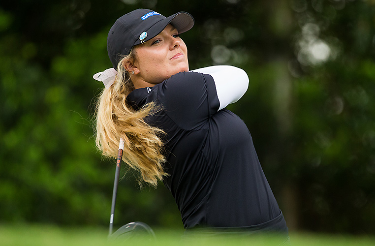 Lauren Stephenson retains lead at Bonville