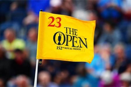 The Open 2023 Flag