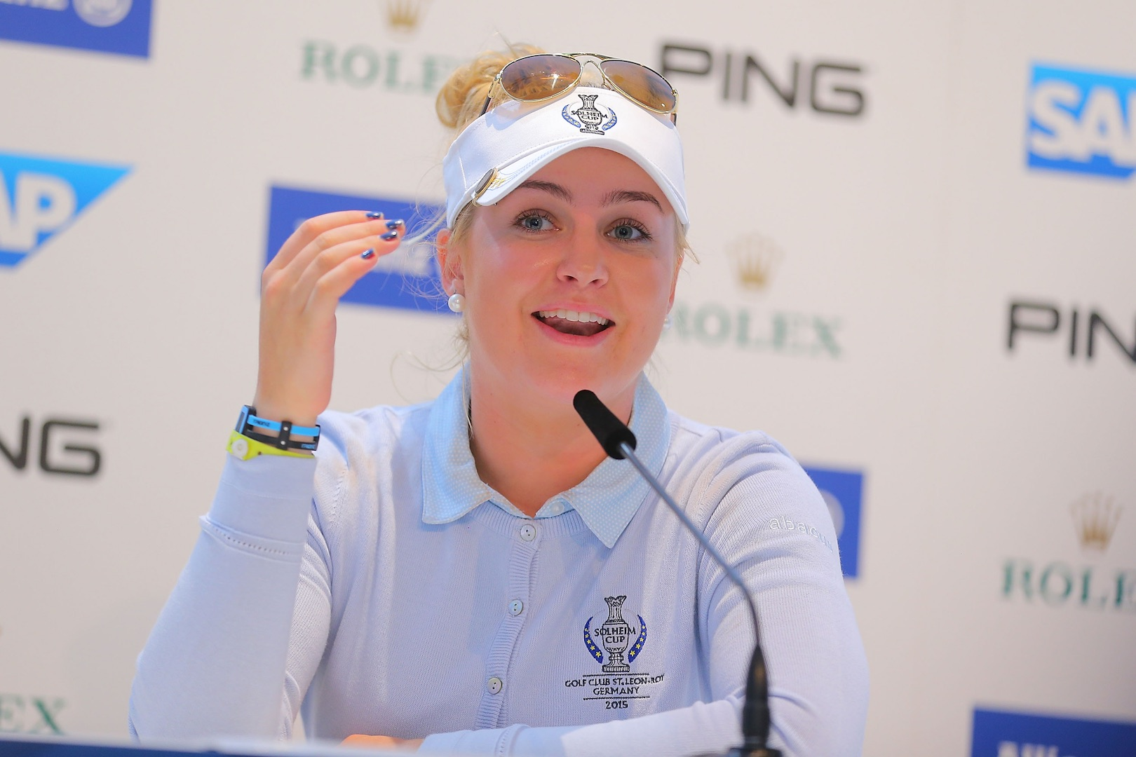 Funniest moments from Solheim Press conferences