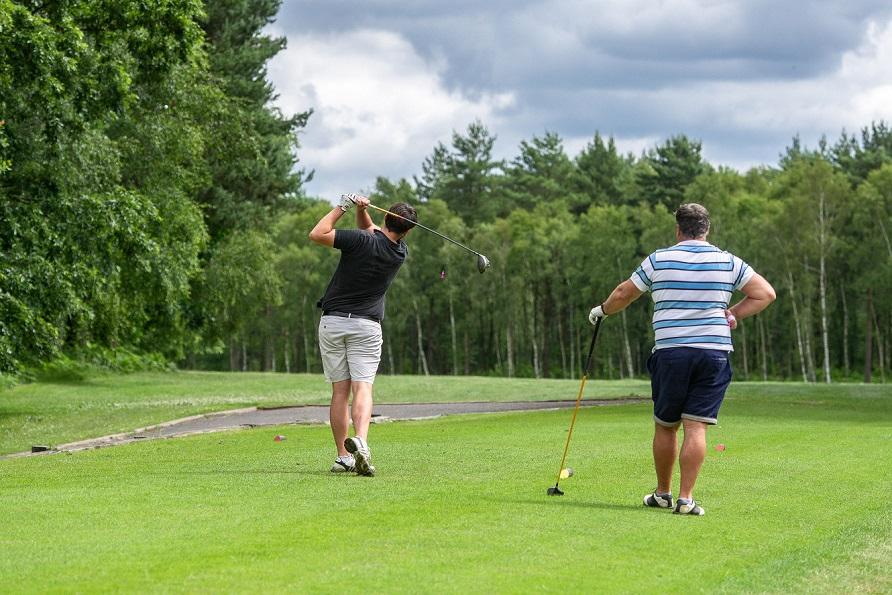 The positives of post lockdown golf
