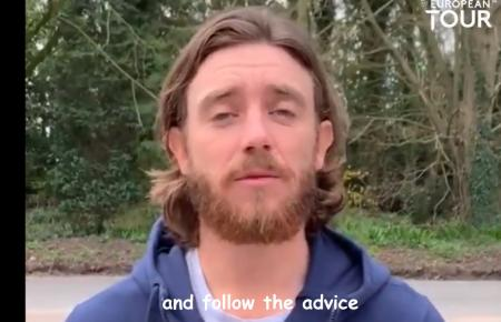Tommy Fleetwood Covid message